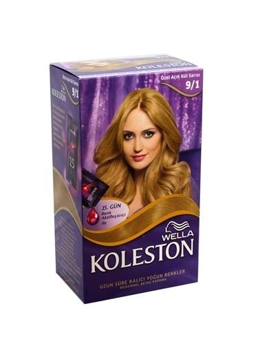 Koleston Koleston Kit Saç Boyası 9/1 Özel Açık Kül Sarısı Sarı
